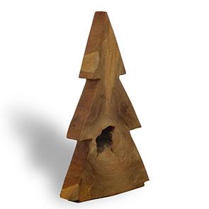 Teakholztannenbaum gross