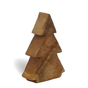 Teakholztannenbaum klein