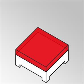 FLEXILounge Polster für Beistelltisch Nagata 95x82 13 cm dick Nagata