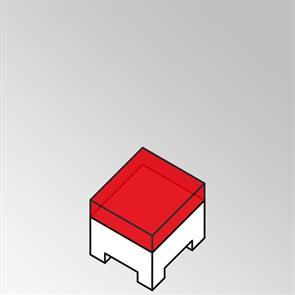 FLEXILounge Polster für Beistelltisch Nagata 55x55 13 cm dick Nagata