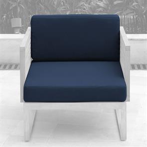 Tessin Polsterset Loungemodul für einen Sitz 12 cm dick SunProof 2-teilig