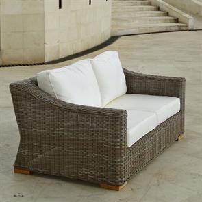 Monaco Sofa 2- Sitzer Kubu Faser