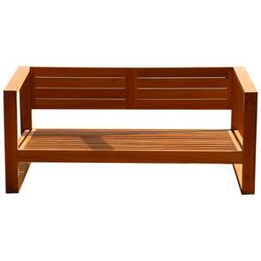 Zafron Sofa 2 Sitzer 156 x 84 x 66 cm Teak