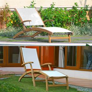 Rivera Liege und Deckchair Set