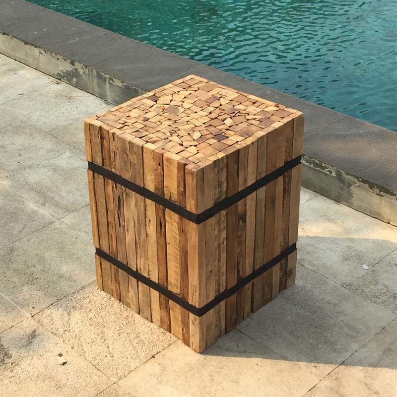 teakoutlet zubeh r podeste. Black Bedroom Furniture Sets. Home Design Ideas