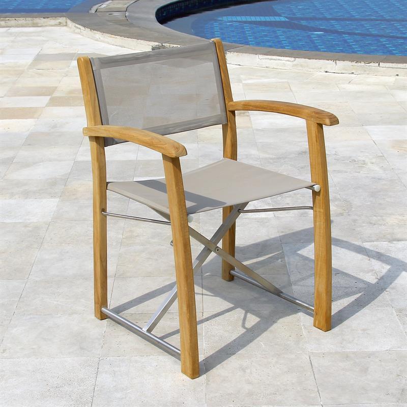 regiestuhl regiestuhl regiestuhl cross teak director. Black Bedroom Furniture Sets. Home Design Ideas