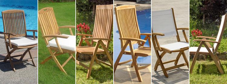 Faltbare Stühle: