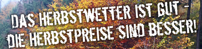 Die TEAKOUTLET Herbst-Spar-Wochen